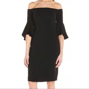 265. Laundry by shelli segal off shoulder dress